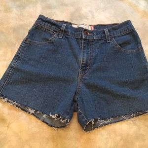 Levi Cut Off Jean Shorts